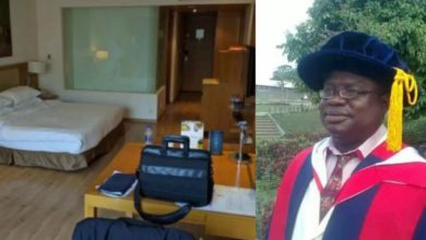 Photo of Nigerian Polytechnic Rector Suspended After Fixing King Size Bed In His Office